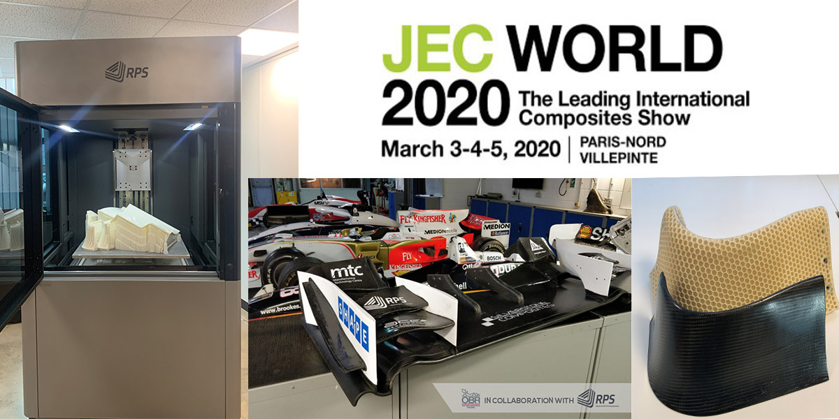 RPS available at JEC World Paris in partnership with DSM – March 3-5 2020