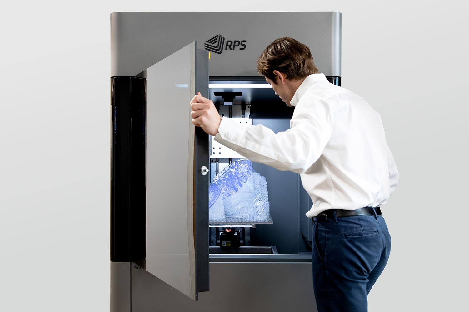 RPS expands Neo stereolithography 3D printer range with the Neo®450 series, for industrial production